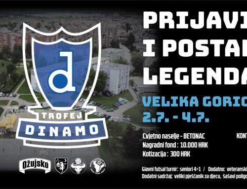 Po prvi put u povijesti – Trofej Dinamo Velika Gorica!