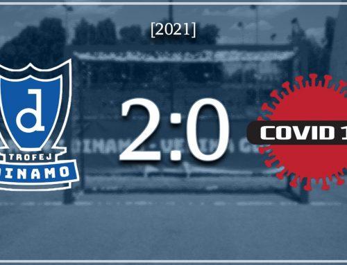 Trofej Dinamo vs Covid 19 (2-0): Trofej Dinamo u prvom dijelu u potpunosti nadigrao Covid19, trener gostiju uveo opasan Delta soj