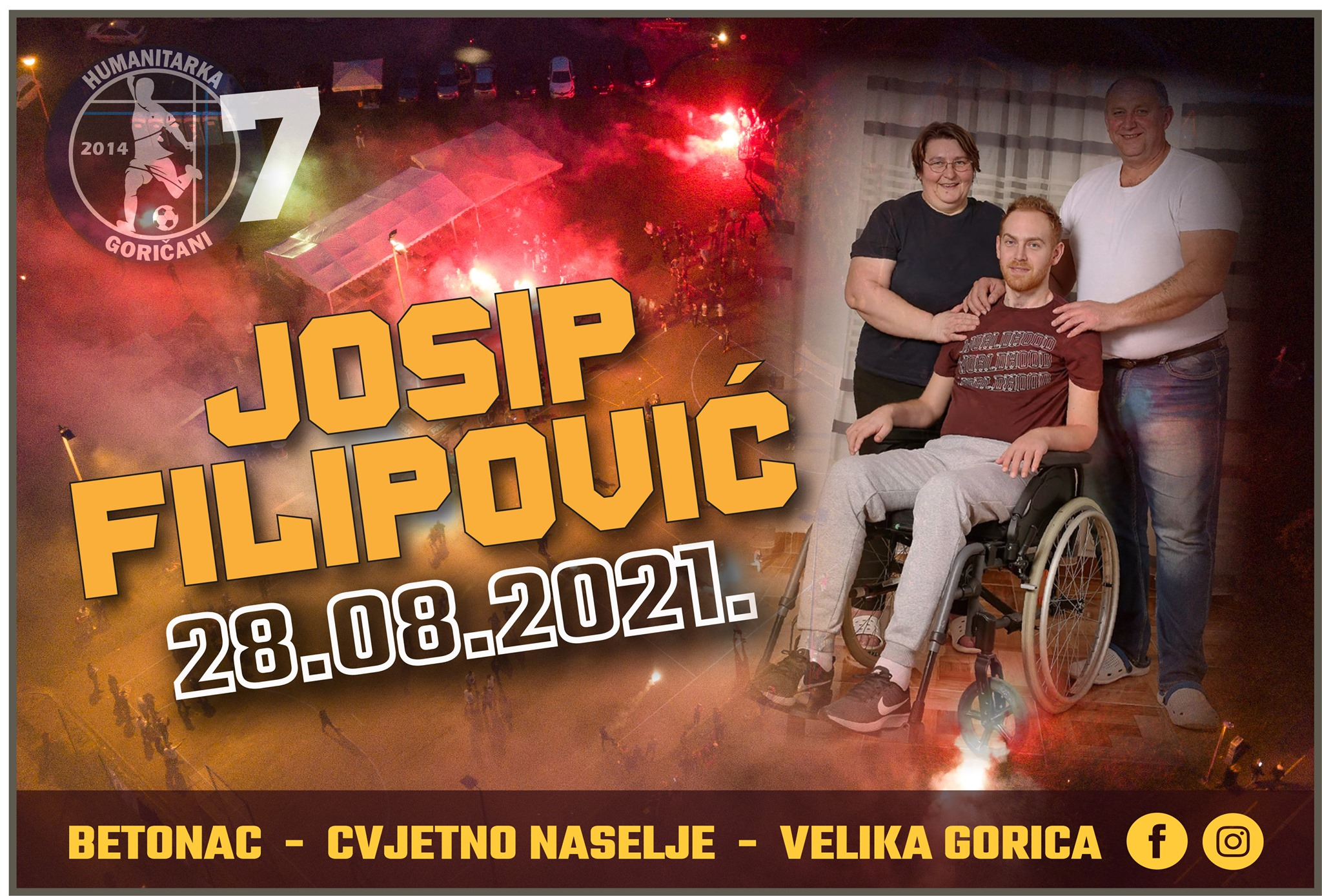 goričani humanitarka josip filipović trofej dinamo